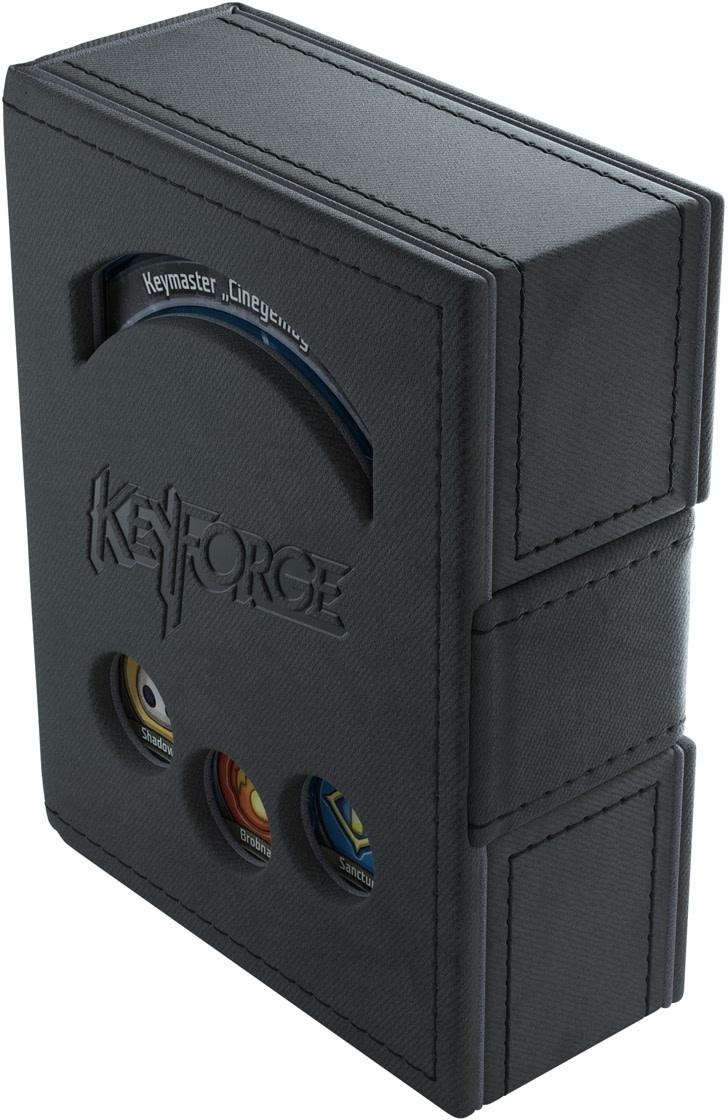 Deck Box Keyforge Deck Book Black