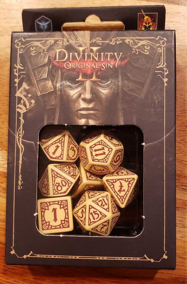 Divinity Original Sin 2 Dice Set
