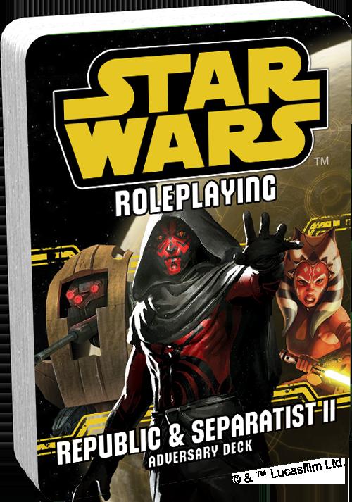 Star Wars RPG: Adversary Deck - Republic and Separatist II