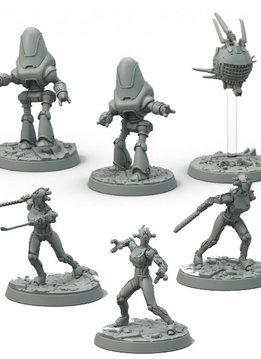 Fallout: Wasteland Warfare - Robots Assaultrons / Protectrons