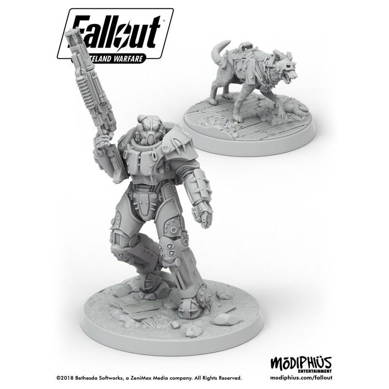 Fallout: Wasteland Warfare - Survivors X-10 Survivor & Dogmeat