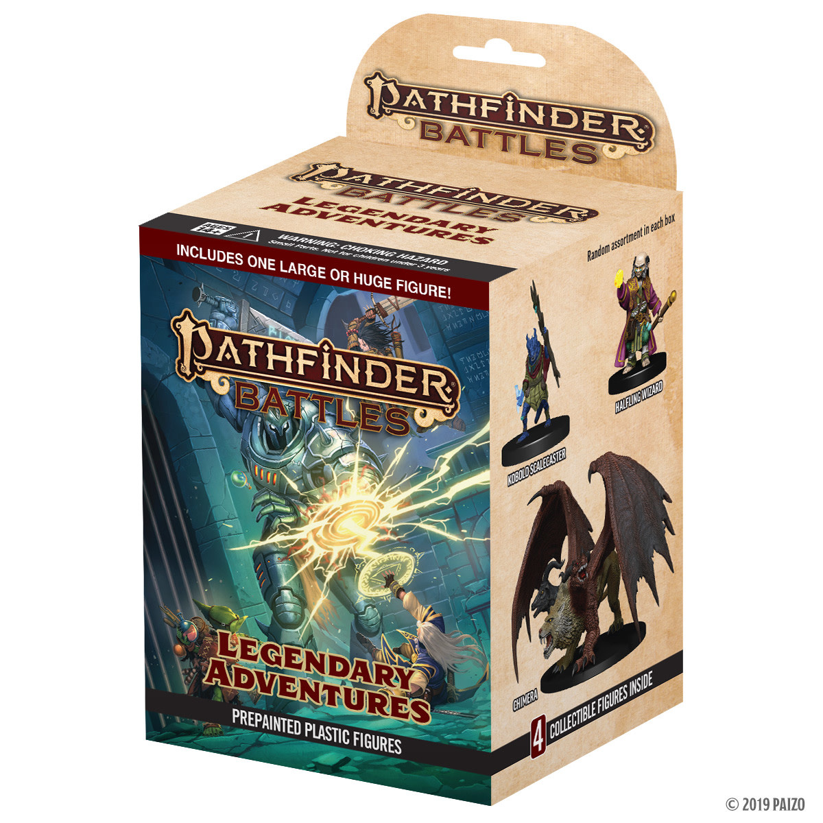PF Battles: Legendary Adventures 8ct Booster Brick