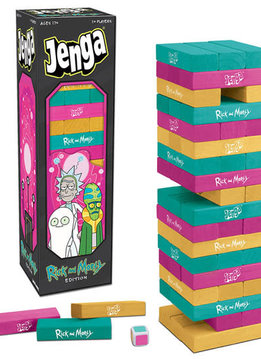 Jenga: Rick and Morty Edition
