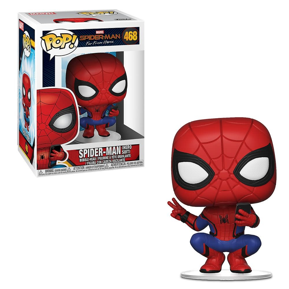 POP! Spider-Man Far From Home: Spider-Man (Hero Suit)