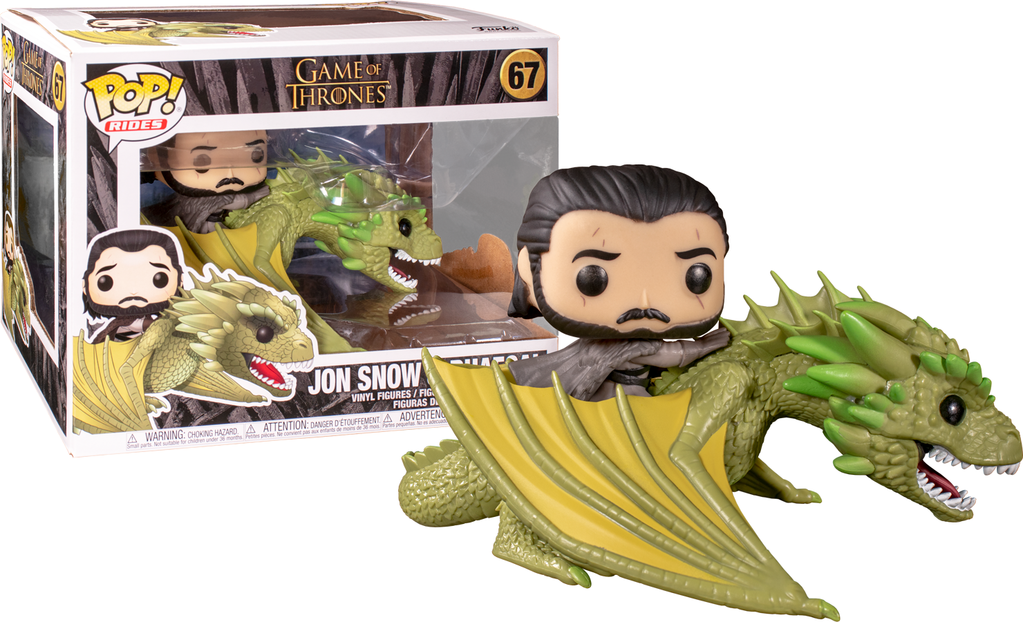 POP! Game of Thrones: Jon Snow & Rhaegal