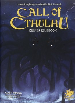 Call of Cthulhu 7th Ed. Keeper Rulebook
