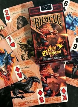 Bicycle Age of Dragons Deck