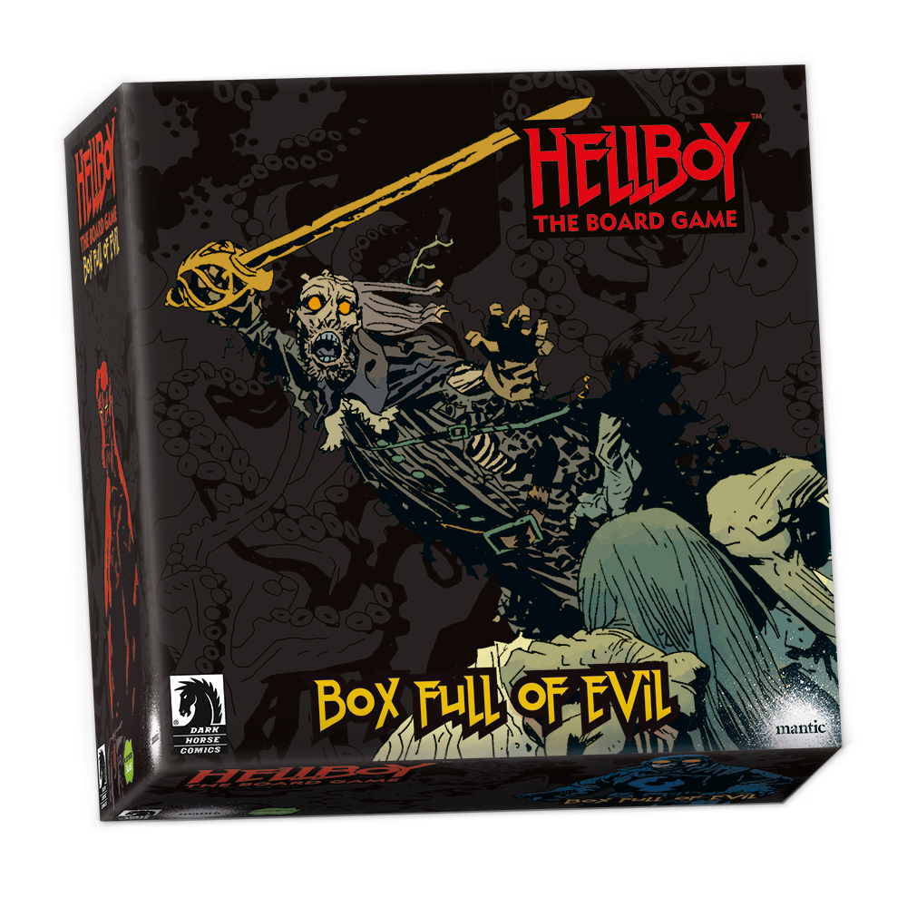 Hellboy TBG: Box Full of Evil Exp.