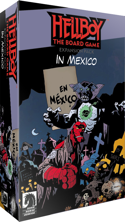 Hellboy TBG: Hellboy in Mexico Exp.