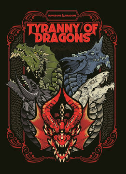 D&D Tyranny of Dragons (Ltd. Cover)