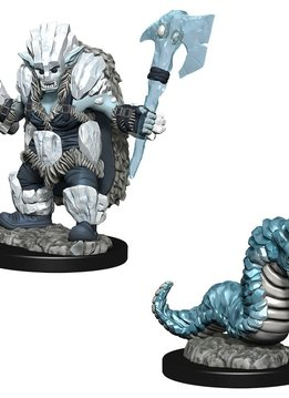 Wardlings - Ice Orc and Ice Worm