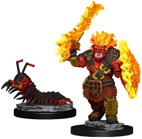 Wardlings - Fire Orc and Fire Centipede