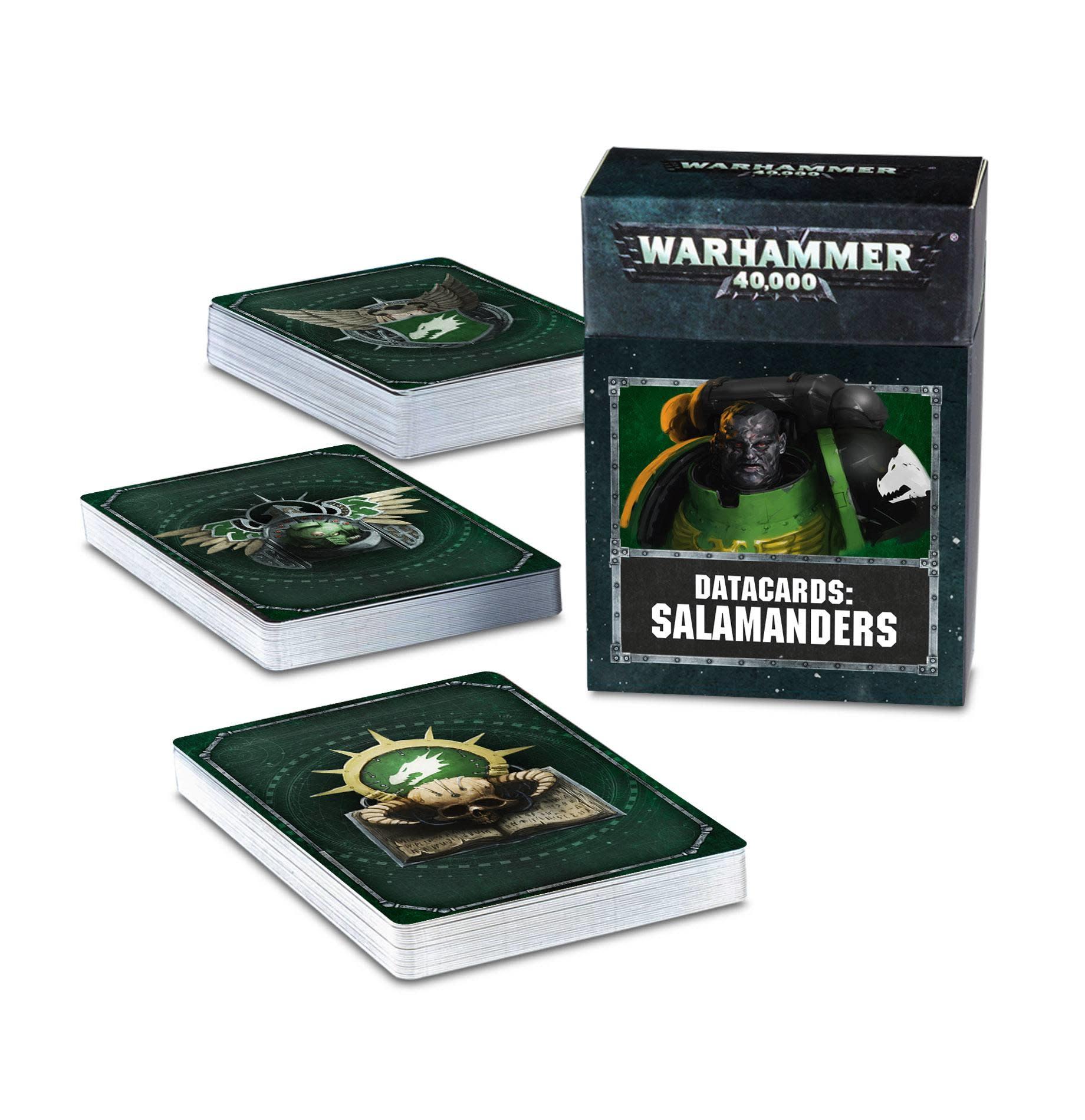 Datacards: Salamanders (FR)