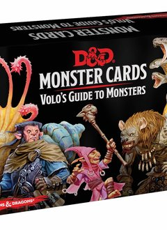 D&D Monster Cards: Volo's Guide to Monsters