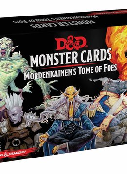 D&D Monster Cards: Mordenkainen's Tome of Foes