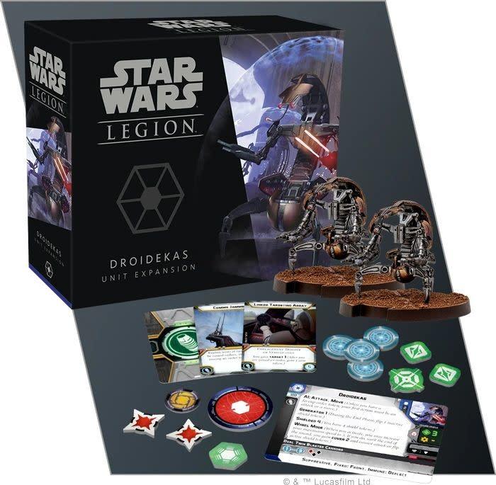 Star Wars: Legion - Droidekas Unit Exp.
