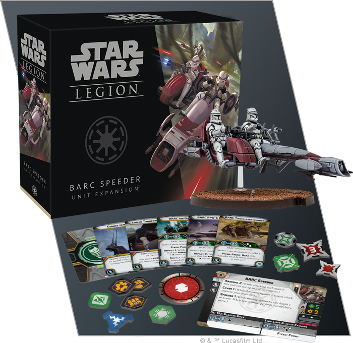Star Wars: Legion - BARC Speeders Unit Exp.