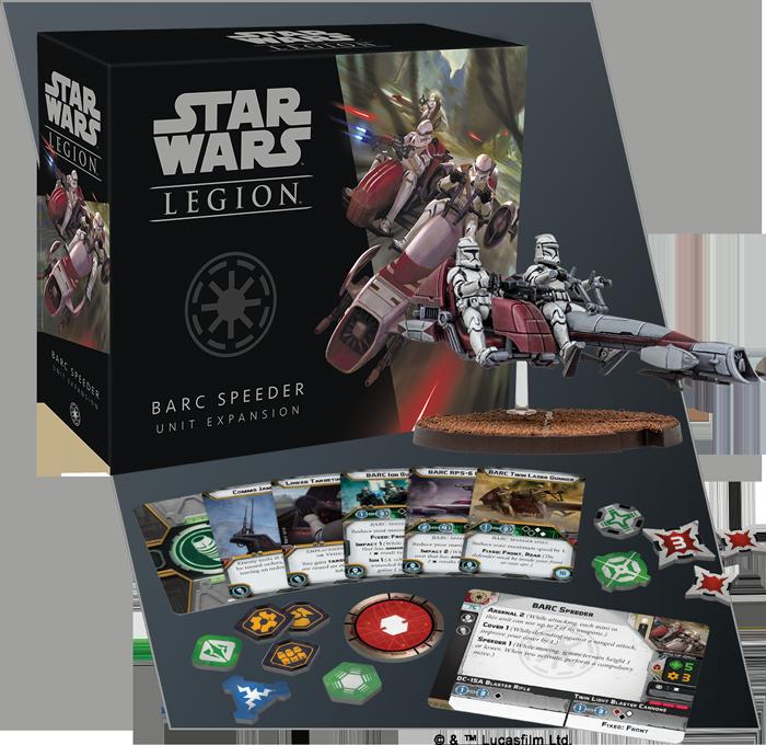 Star Wars: Legion - BARC Speeders Unit Exp.