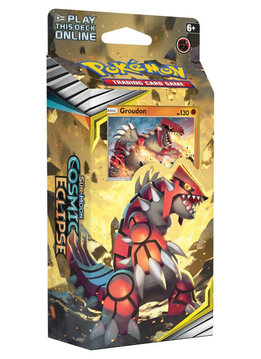 Pokemon: Cosmic Eclipse - Towering Heights Groudon Theme Deck