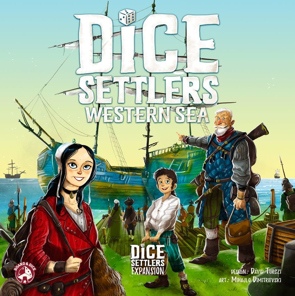 Dice Settlers: Western Sea Exp.