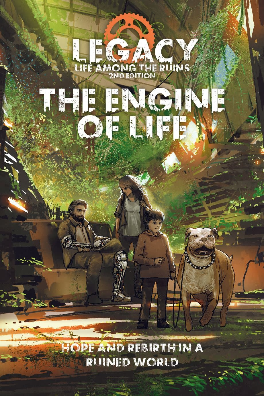 Legacy: The Engine of Life (HC)