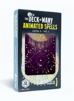 Deck of Many Animated Spells: Level 3 Vol.1