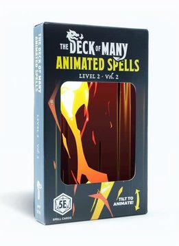Deck of Many Animated Spells: Level 2 Vol.2