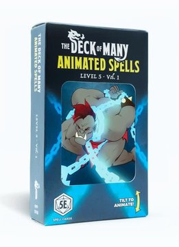 Deck of Many Animated Spells: Level 5 Vol.1