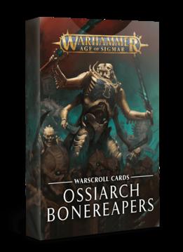 Warscroll Cards: Ossiarch Bonereapers (FR)