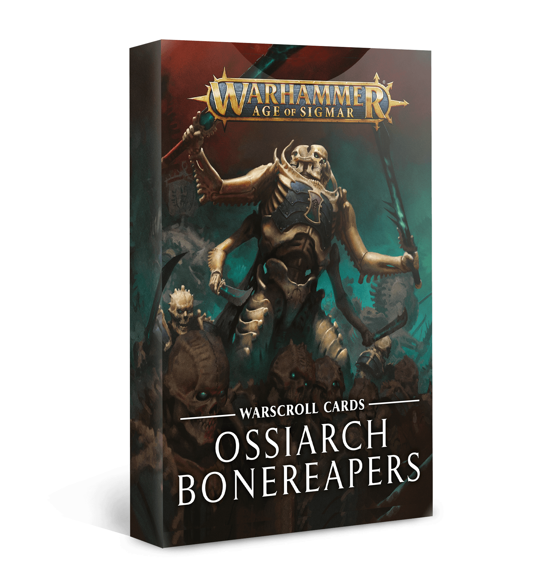 Warscroll Cards: Ossiarch Bonereapers (FR)