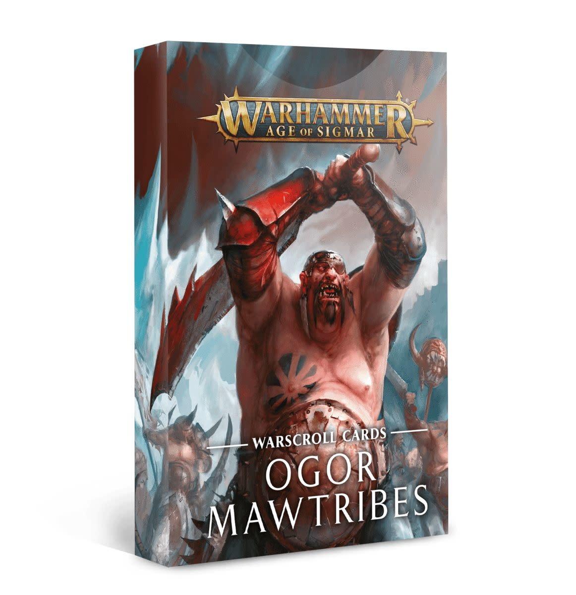 Warscroll Cards: Ogor Mawtribes (FR)