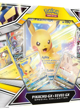 Pokemon Pikachu GX & Eevee GX Collection