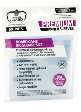 Board Game Sleeves: Premium Big Square