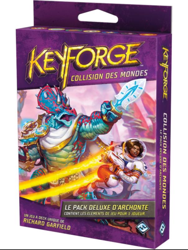 Keyforge: Collision des Mondes - Pack Deluxe d'Archonte