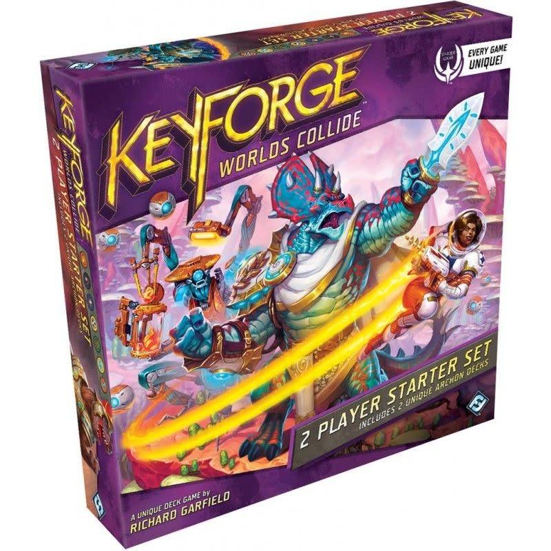 Keyforge: Collision des Mondes - Starter 2 Joueurs