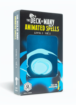 Deck of Many Animated Spells: Level 1 Vol.2