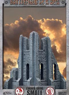 Battlefield in a Box - Gothic Small Corner Ruin