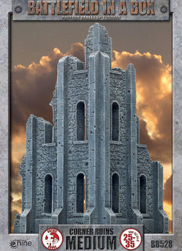 Battlefield in a Box - Gothic Medium Corner Ruin