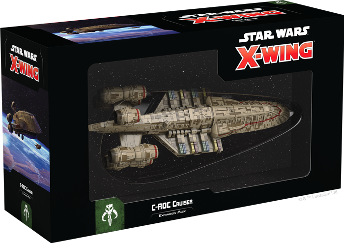X-Wing 2E: C-ROC Cruiser Exp. Pack