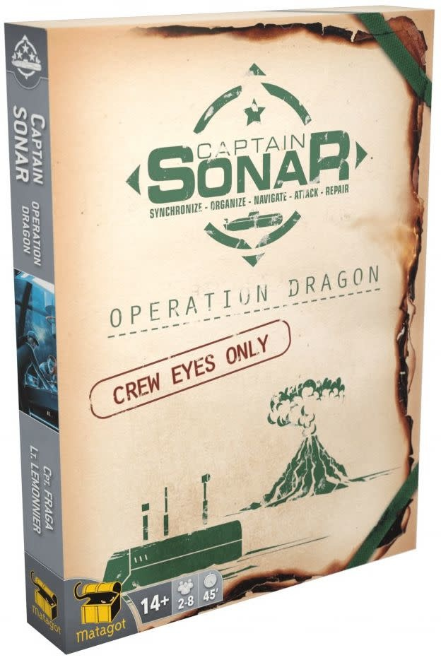 Captain Sonar: Opération Dragon (FR)