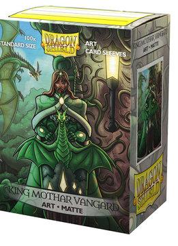 King Mothar Vanguard Portrait Dragon Shield Sleeves Ltd. Ed. Matte Art 100ct