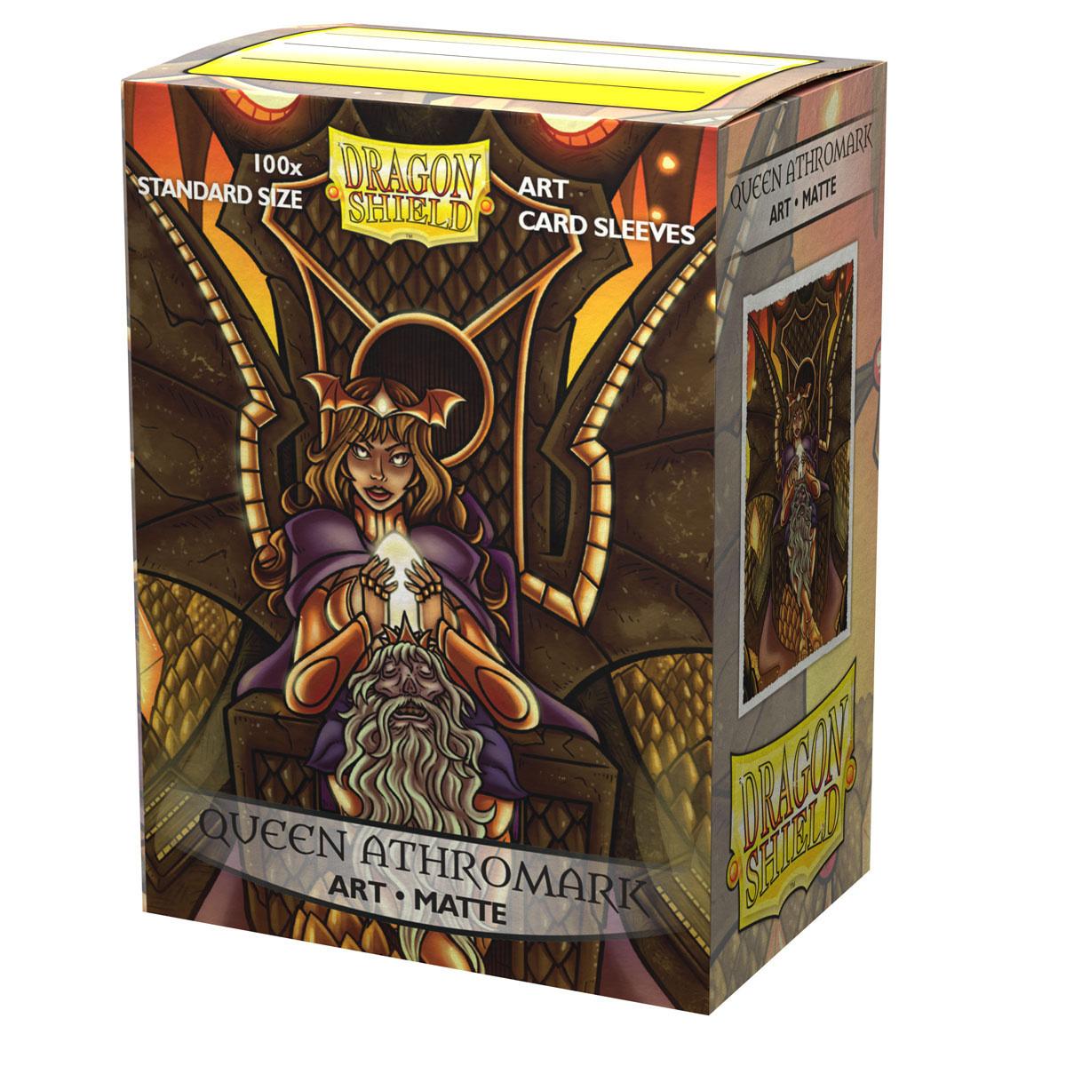 Queen Athromark Portrait Dragon Shield Sleeves Ltd. Ed. Matte Art 100ct