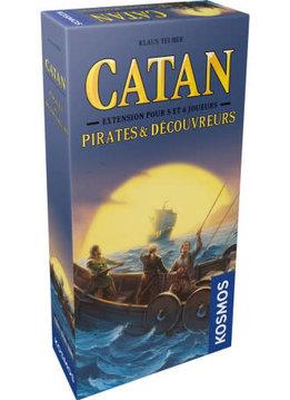 Catan - Ext. Pirates et Découvreurs 5-6