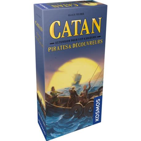 Catan: Ext. Pirates et Découvreurs 5-6 Joueurs