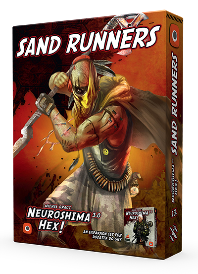 Neuroshima Hex 3.0 Sand Runners