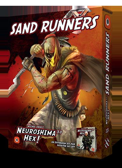Neuroshima Hex 3.0 Sand Runners