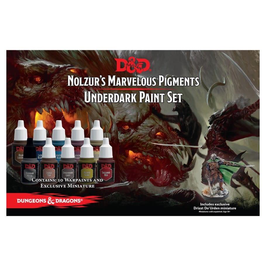 D&D Nolzur's Marvelous Paint Set: Underdark Paint Set