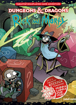 D&D vs Rick and Morty Set