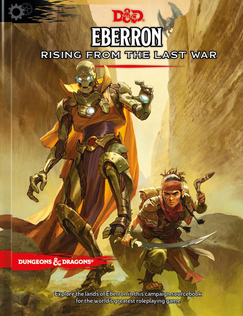 D&D 5E Eberron: Rising from the Last War