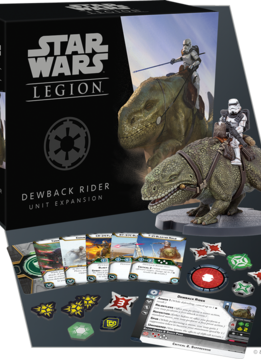 Star Wars Legion : Dewback Rider Unit Expansion